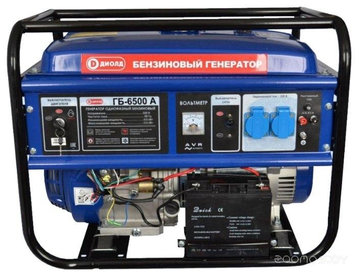 Бензиновая электростанция ДИОЛД ГБ-6500 А