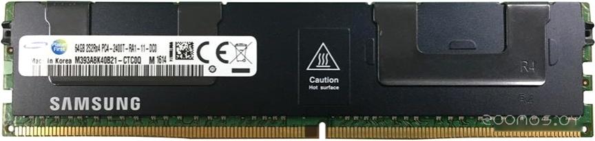Оперативная память Samsung 64GB DDR4 PC4-19200 M393A8K40B21-CTC