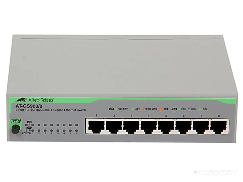 Коммутатор Allied Telesis AT-GS900/8PS-50