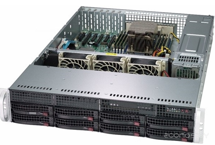 Серверная платформа Supermicro AS-2013S-C0R