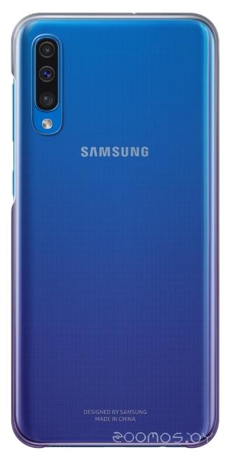 Чехол Samsung Gradation Cover для A50 (Purple)