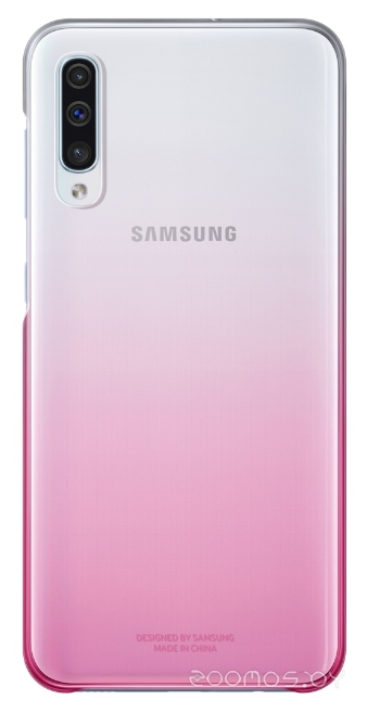 Чехол Samsung Gradation Cover для A50 (Pink)