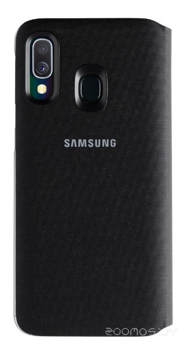 Чехол Samsung Wallet Cover для A40 (Black)