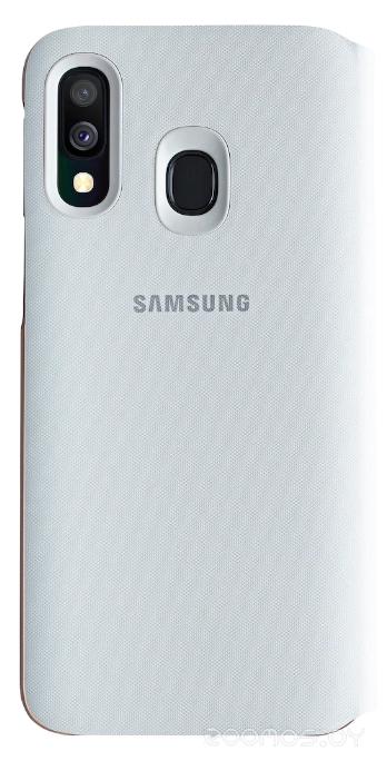 Чехол Samsung Wallet Cover для A40 (White)