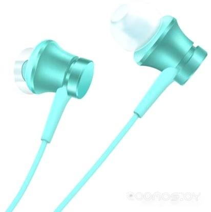 Наушники Xiaomi Mi In-Ear Headphones Basic HSEJ03JY (бирюзовый)