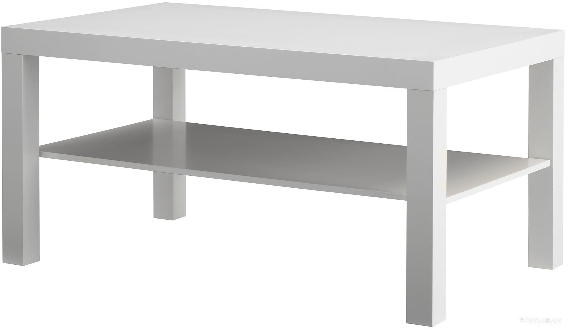 Журнальный столик Ikea Лакк (белый) 303.832.24