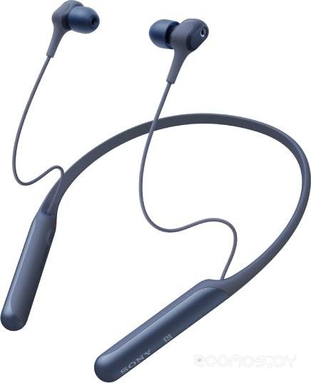 Наушники Sony WI-C600N (Blue)
