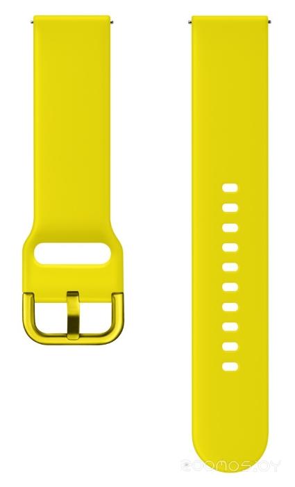 Сменный ремешок Samsung для Galaxy Watch Active (Yellow)