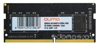 Оперативная память Qumo QUM4S-8G2400P16