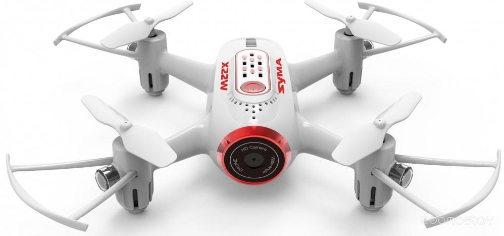 Квадрокоптер Syma X22 (White/Red)