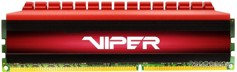 Оперативная память Patriot Viper 4 2x4GB DDR4 PC4-24000 (PV48G300C6K)