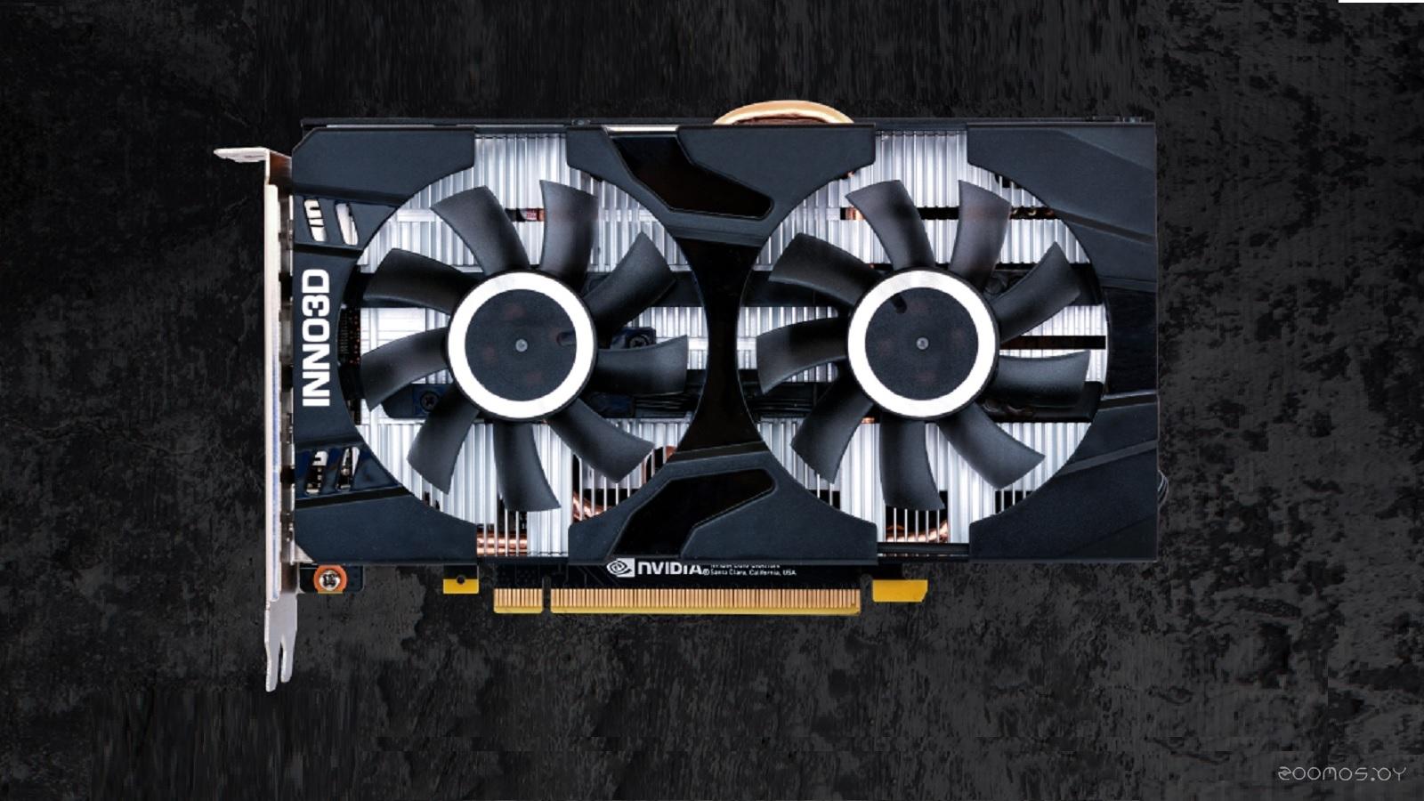 Видеокарта Inno3D GeForce GTX 1660 Ti 6 GB Twin X2