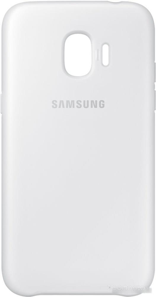Чехол Samsung Dual Layer Cover для Samsung Galaxy J2 (белый)