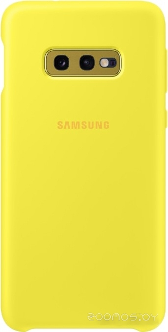 Чехол Samsung Silicone Cover для Samsung Galaxy S10e (желтый)