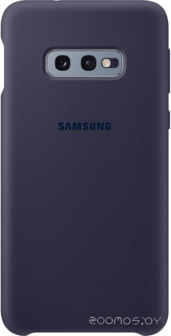 Чехол Samsung Silicone Cover для Samsung Galaxy S10e (синий)