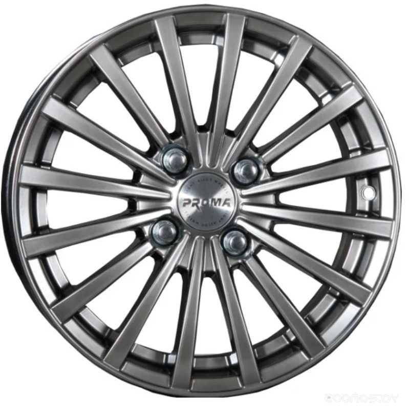 Колёсные диски PROMA Оберон 6.5x15/4x100 D60.1 ET50 Алмаз-Матовый