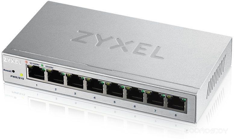 Коммутатор Zyxel GS1200-8-EU0101F