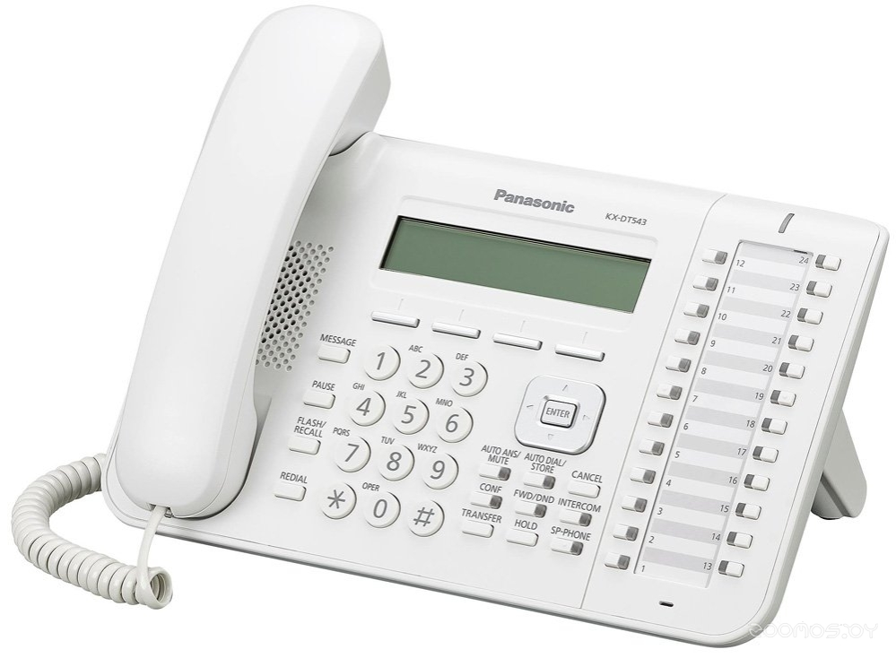 Проводной телефон Panasonic KX-DT543 (White)