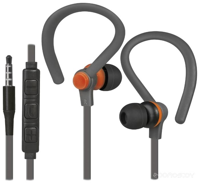 Наушники Defender OutFit W760 (Grey-Orange)