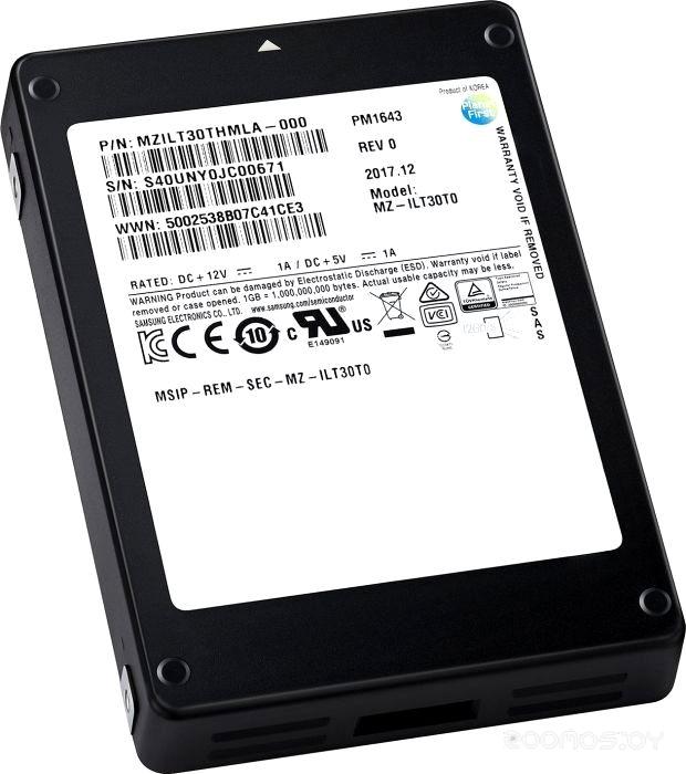 Жесткий диск Samsung MZILT960HAHQ-00007