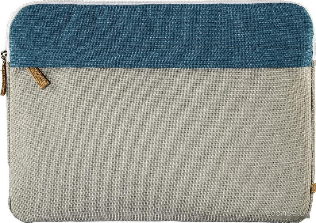 Чехол для ноутбука HAMA Florence Sleeve 13.3 (серый/бирюзовый)