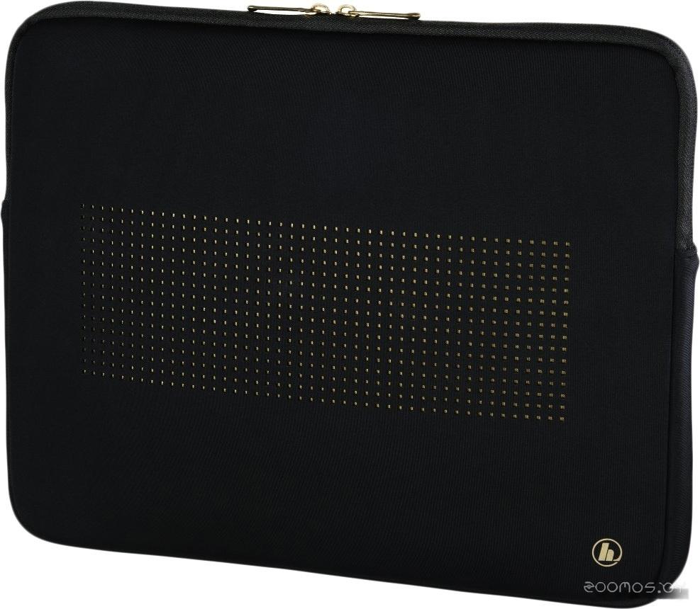Чехол для ноутбука HAMA Neoprene Sleeve 15.6 (черный/золотисттый)