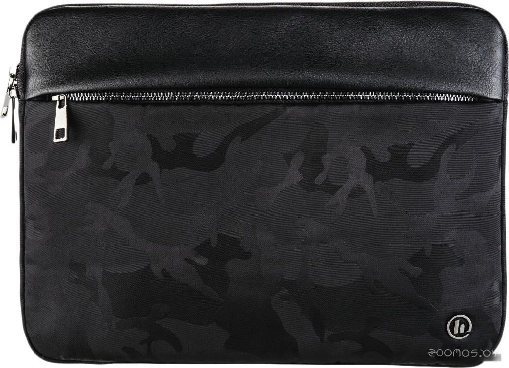 Чехол для ноутбука HAMA Mission Camo Sleeve 13.3 (черный)
