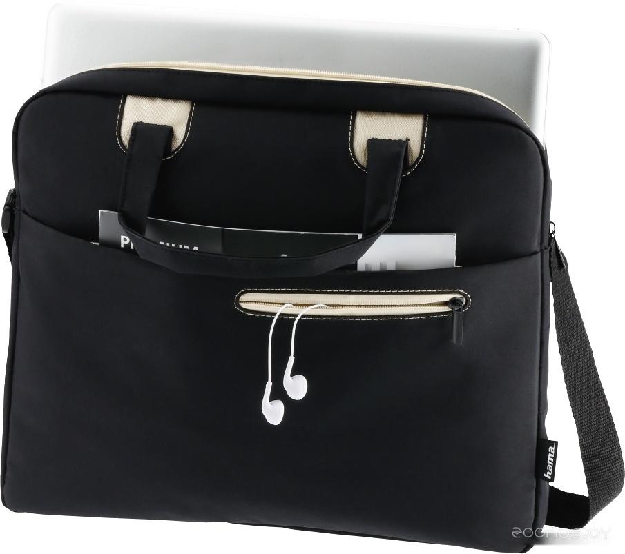 Сумка для ноутбука HAMA Sydney 15.6 (черный/бежевый)