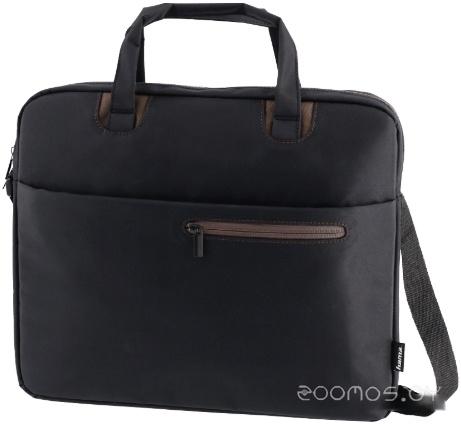 Сумка для ноутбука HAMA Sydney 15.6 (черный/коричневый)