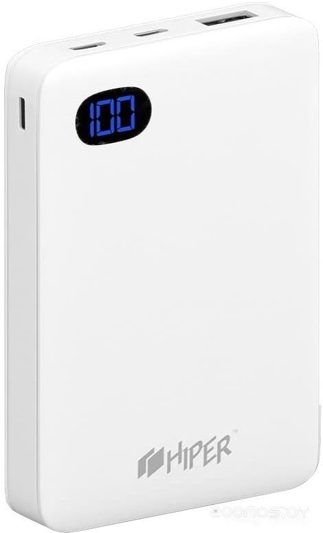 Портативное зарядное устройство HIPER SN10000 (белый)