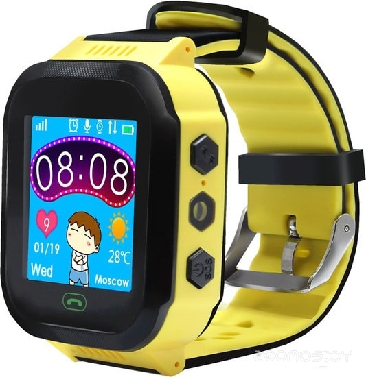 Часы Ginzzu GZ-502 (Yellow)