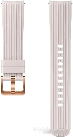 Ремешок Samsung Silicone для Galaxy Watch 42mm (серебристый)