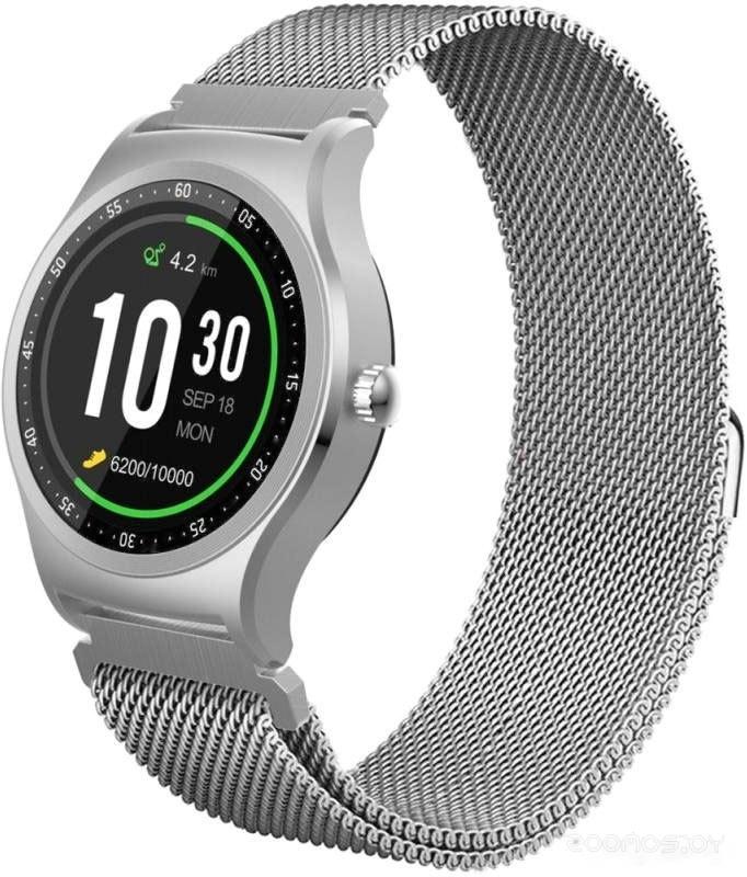 Умные часы KREZ Pro S SW18 (серебристый)