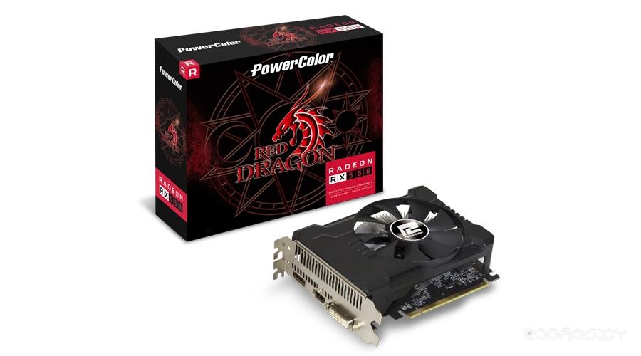 Видеокарта PowerColor AMD Radeon RX 550 2048Mb 128bit GDDR5