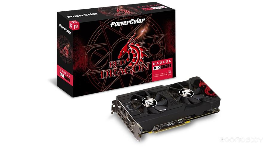 Видеокарта PowerColor AXRX 570 8GBD5-DMV3 Box (170600)