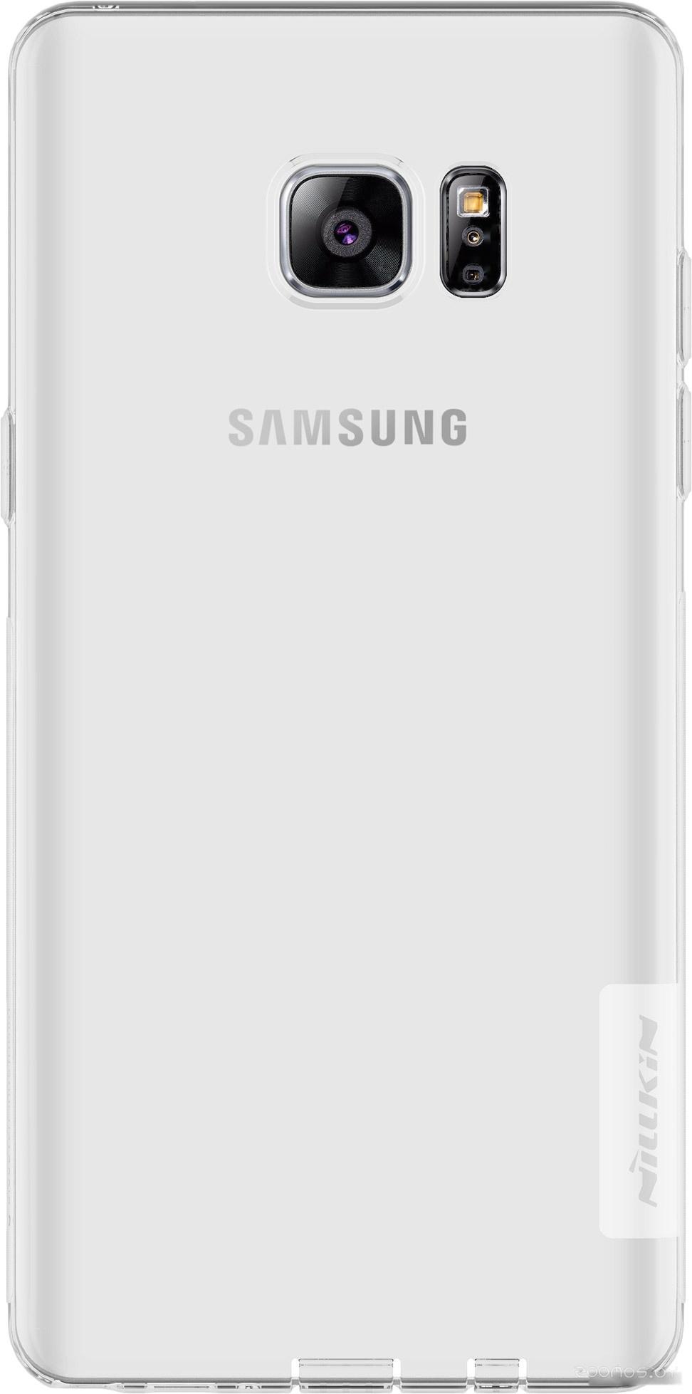 Чехол Nillkin Nature TPU для Samsung Galaxy Note 7 (прозрачный)