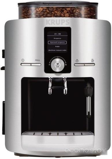 Эспрессо кофемашина Krups Espresseria Automatic Inox (EA8260)