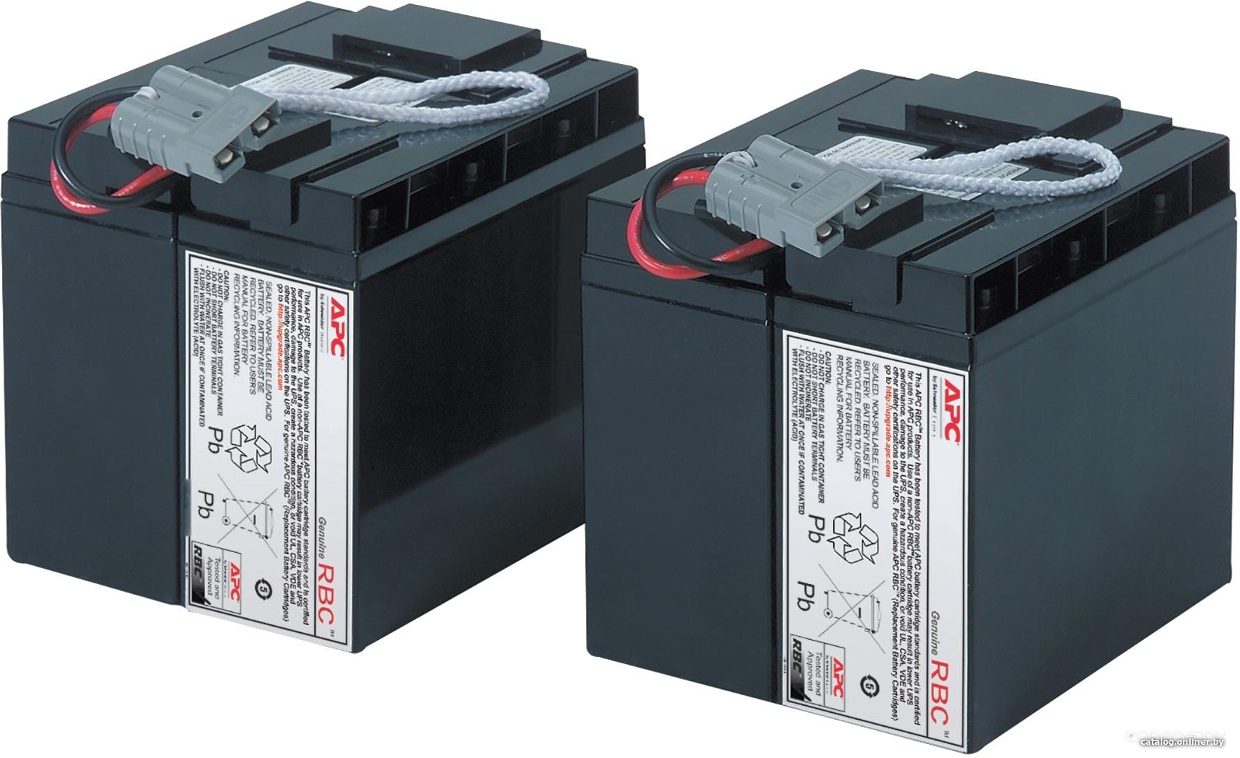Аккумулятор для ИБП APC RBC11 (12В/17 А·ч)