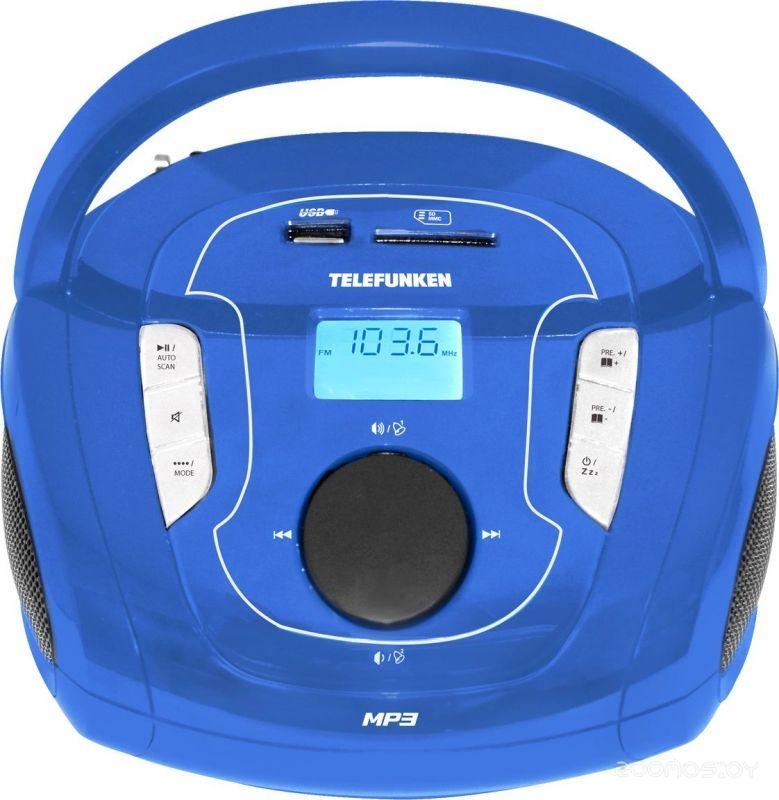 Магнитола Telefunken TF-SRP3471B (Blue)