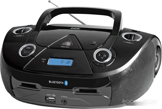Портативная аудиосистема BBK BX318BT (черный)