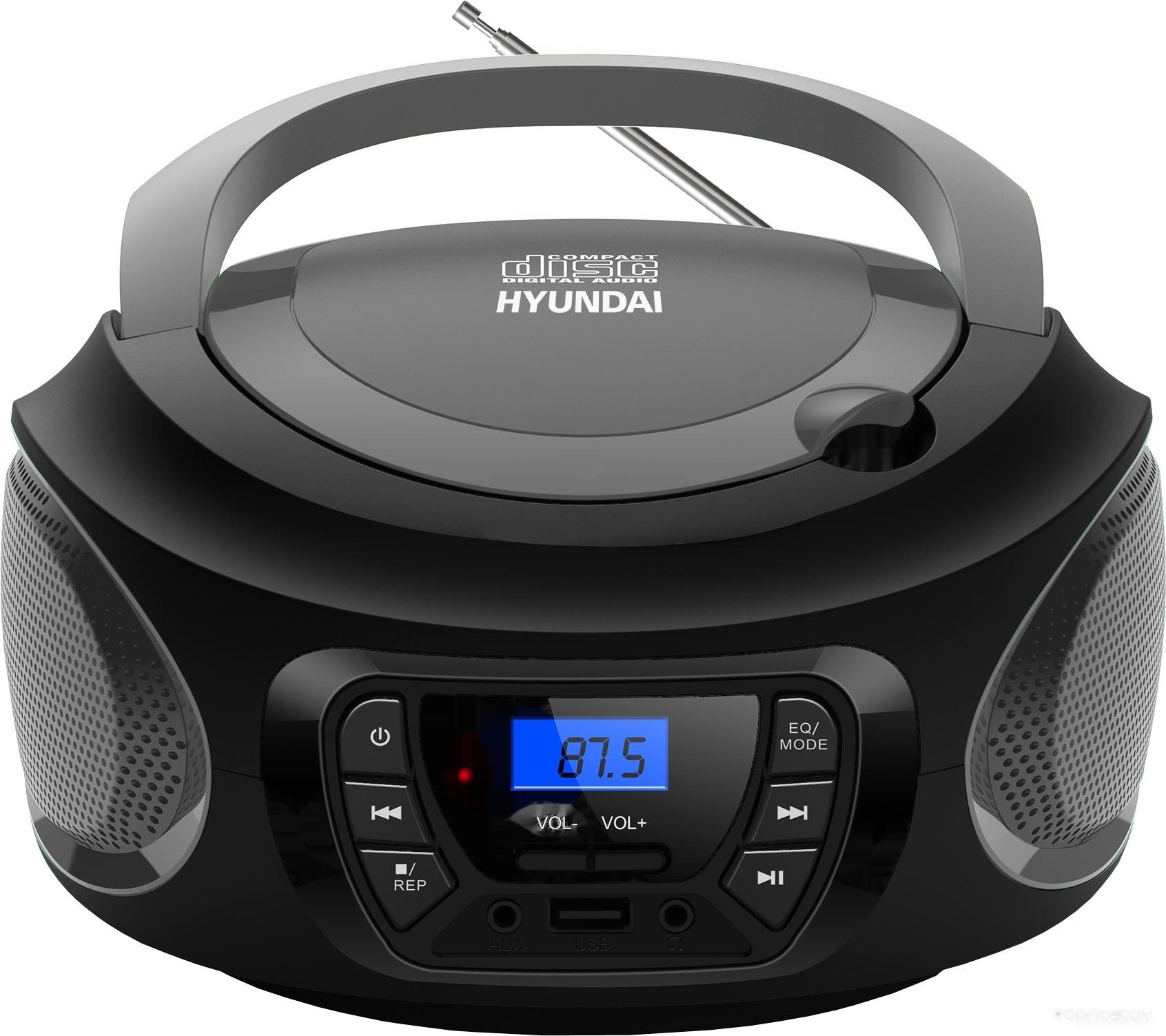 Портативная аудиосистема Hyundai H-PCD380