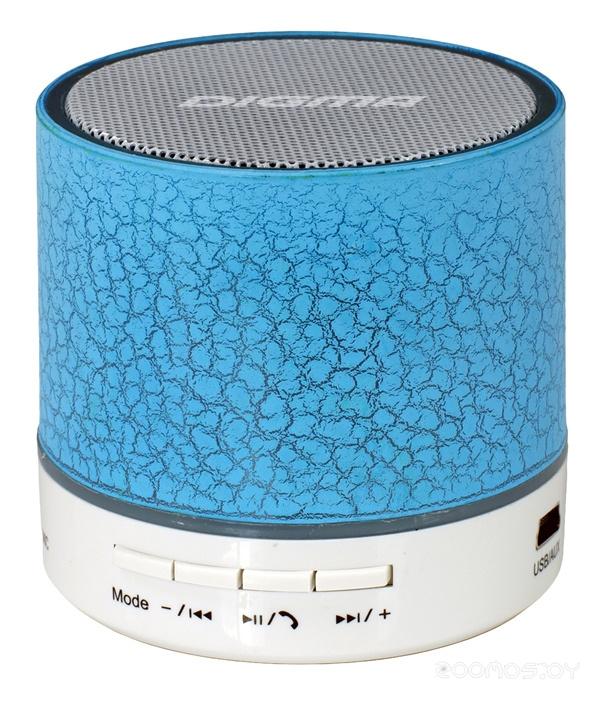 Портативная акустика DIGMA S-12 (Blue)
