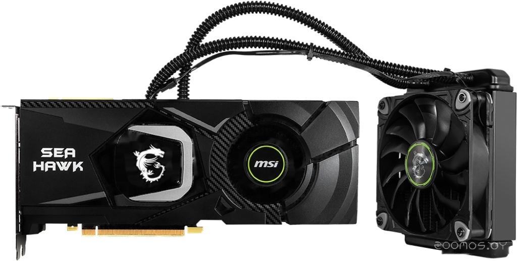 Видеокарта MSI GeForce RTX 2080 Sea Hawk X 8GB GDDR6