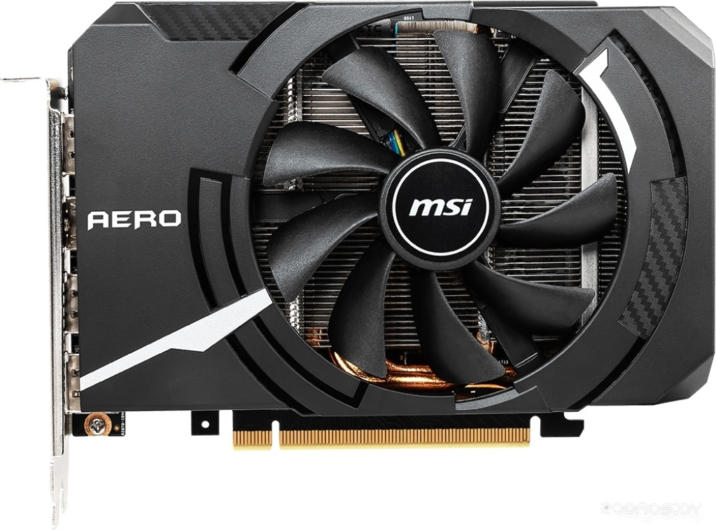 Видеокарта MSI GeForce RTX 2060 Aero ITX OC 6GB GDDR6