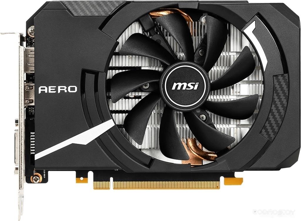 Видеокарта MSI GeForce GTX 1660 Ti Aero ITX OC 6GB GDDR6