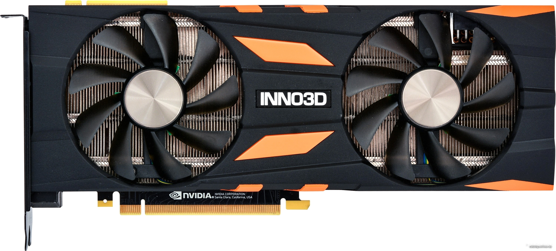 Видеокарта Inno3D GeForce RTX 2070 Gaming OC X2 8GB GDDR6 N20702-08D6X-2511683