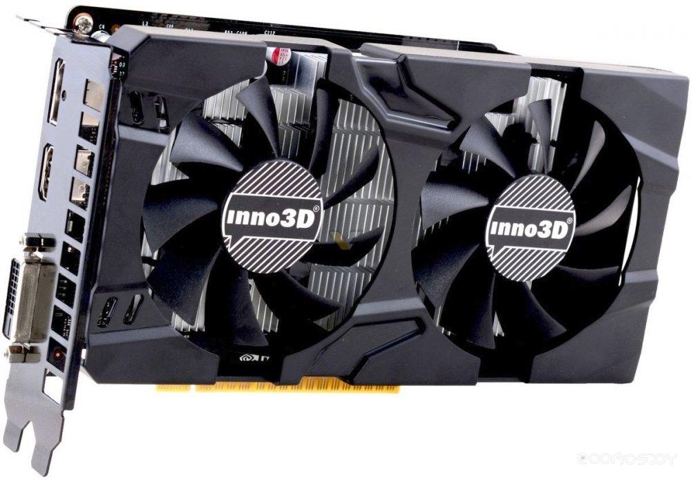 Видеокарта Inno3D GeForce GTX 1050 Twin X2