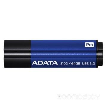 USB Flash A-Data S102 Pro 64GB (Blue)