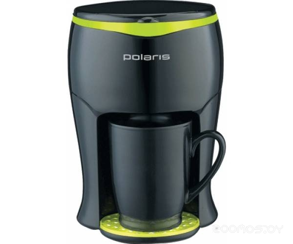 Кофеварка Polaris PCM 0109 black-green