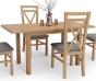 Кухонный стол Halmar Dinner 120/158 (дуб крафт)